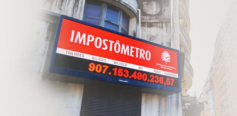 Cifra de R$ 700 bilhões será visualizada no painel do Impostômetro ...